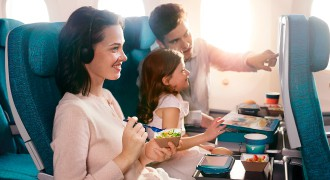 Our Economy Class guests get to enjoy a wide array of dishes