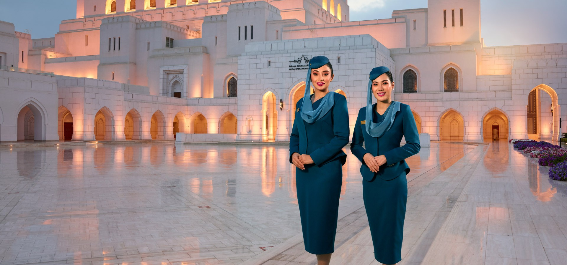 Oman Air Crew in Badiya Desert