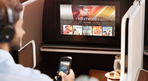 Oman Air Inflight Entertainment