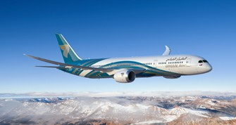 Oman Air Dreamliner 787