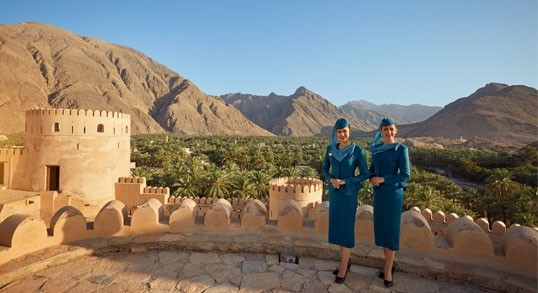 Explore Oman's desert beauty with Oman Air