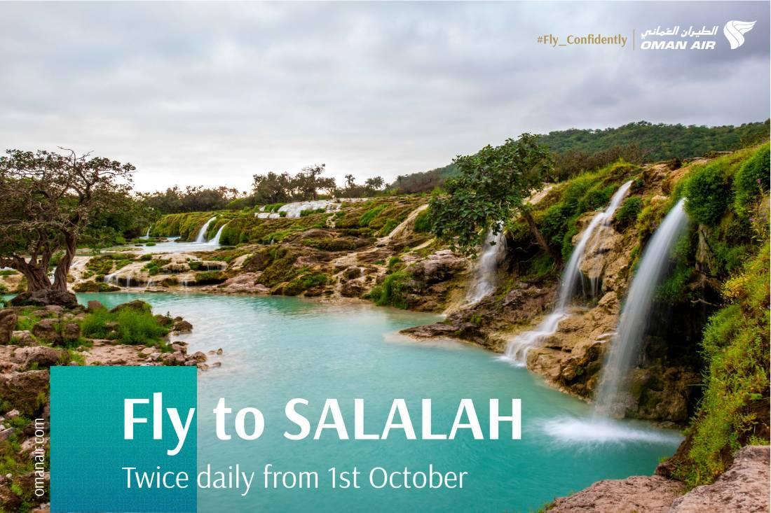 Oman Air resumes flights to Salalah on 1 October